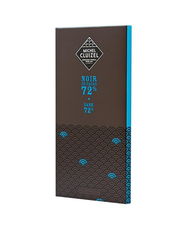 Michel Cluizel Tumšā Šokolāde Noir de Cacao 72%