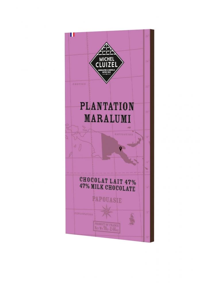 Michel Cluizel Šokolāde no plantācijas Maralumi Lait 47%