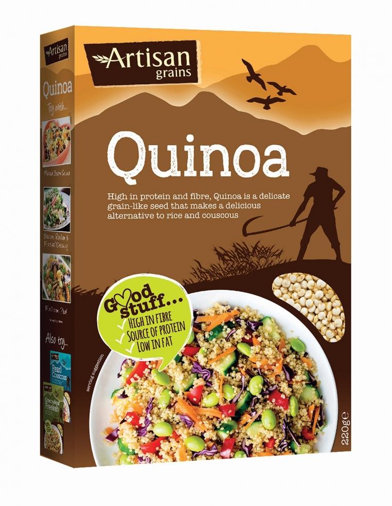 Artisan Grains Karaliskā Kvinoja 220g