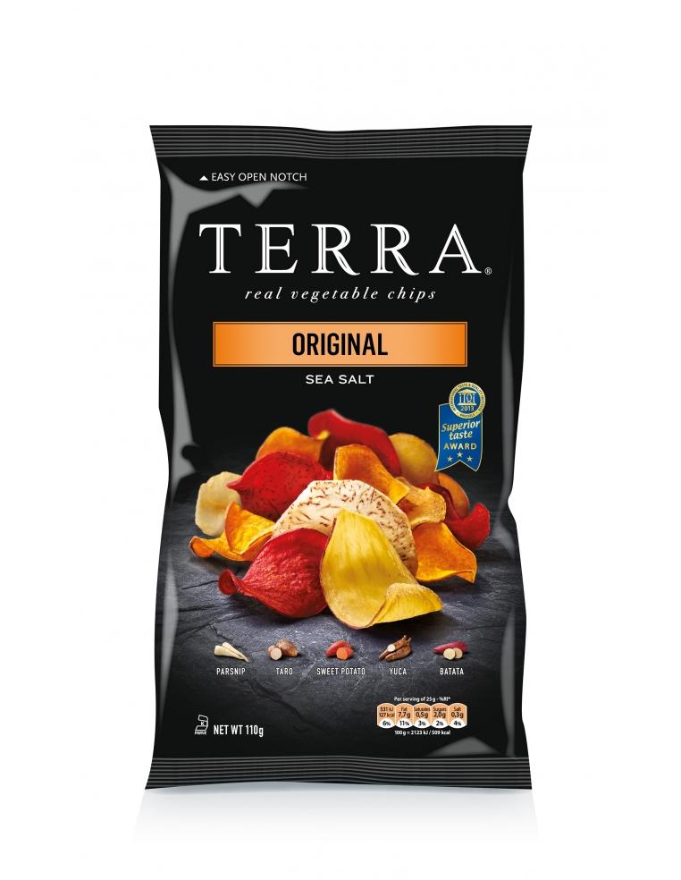 Terra Chips Original Dārzeņu Čipsi