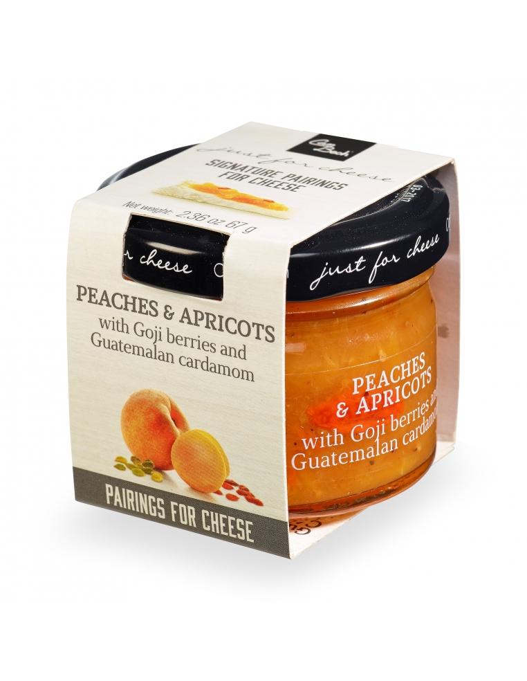 Saldā persiku un aprikožu mērce ar Godži ogām un Gvatemalas kardamonu 72g