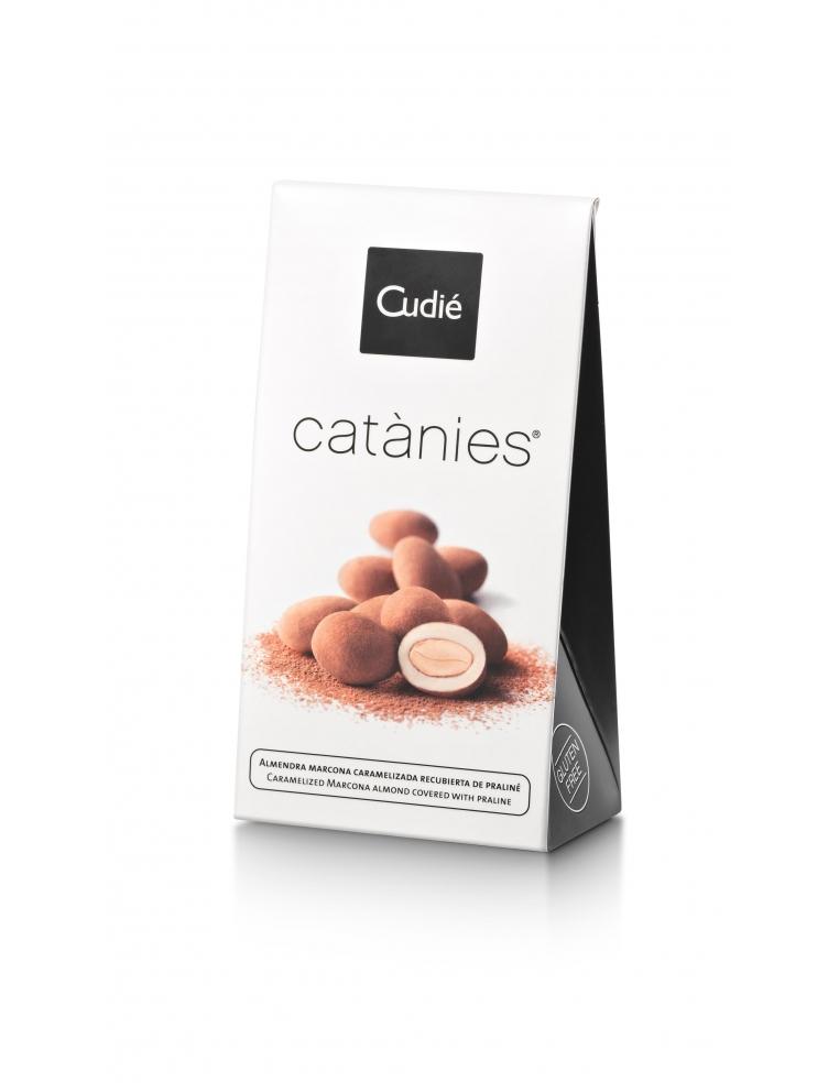 CUDIE CATANIES Karamelizētas Mandeles Šokolādē 80G