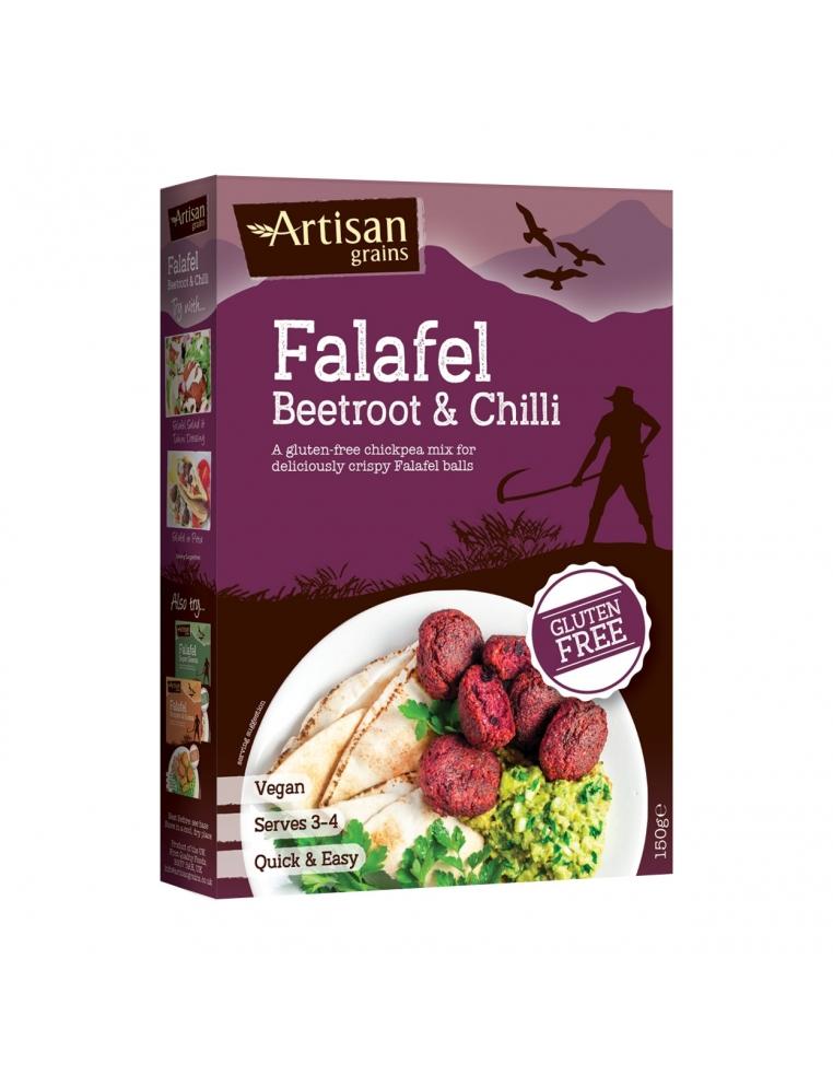 Artisan Grains Falafela Maisījums Ar Bieti Un Čili 150g