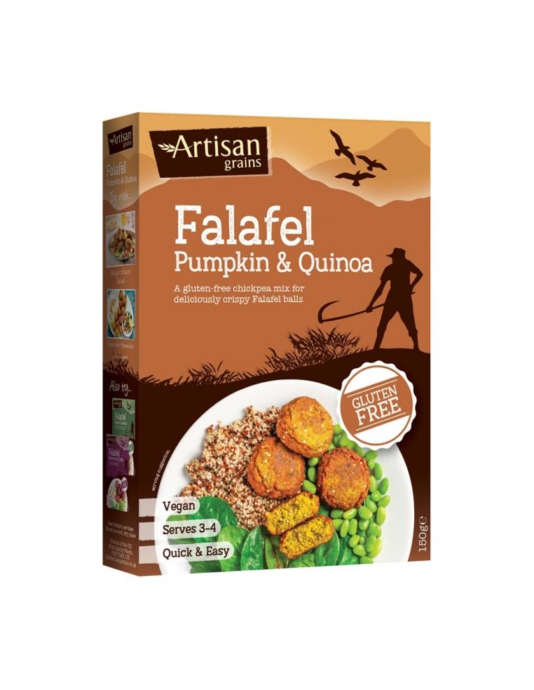 Artisan Grains Falafela Maisījums Ar Ķirbi Un Kvinoju 150g