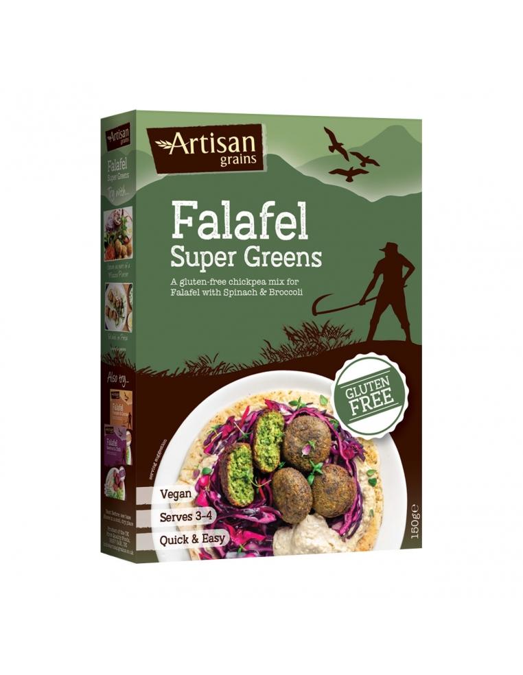 Artisan Grains Falafela Maisījums Ar Zaļumiem Un Brokoli 150g