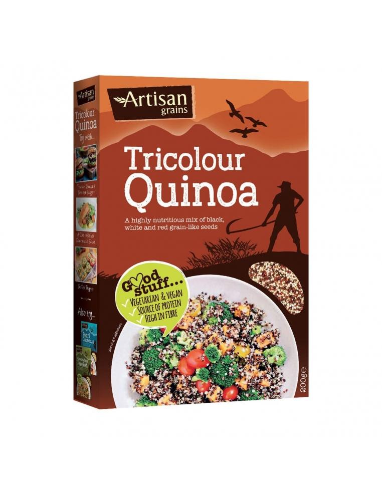 Artisan Grains Trīskrāsu Kvinoja 220g