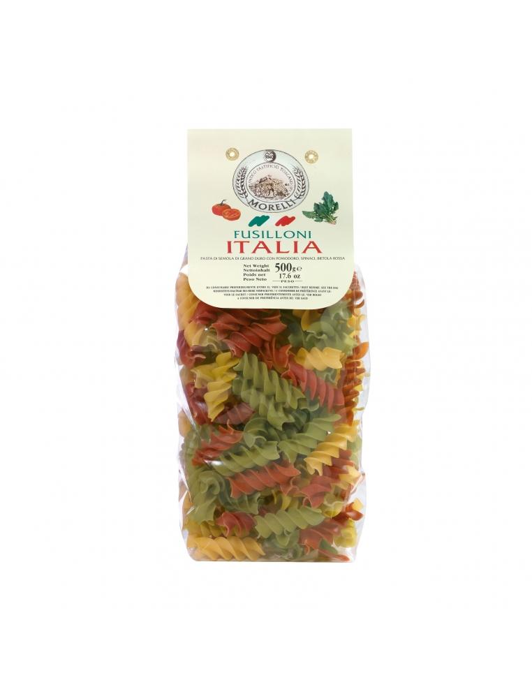 Pasta Fusilloni Tricolore 500g