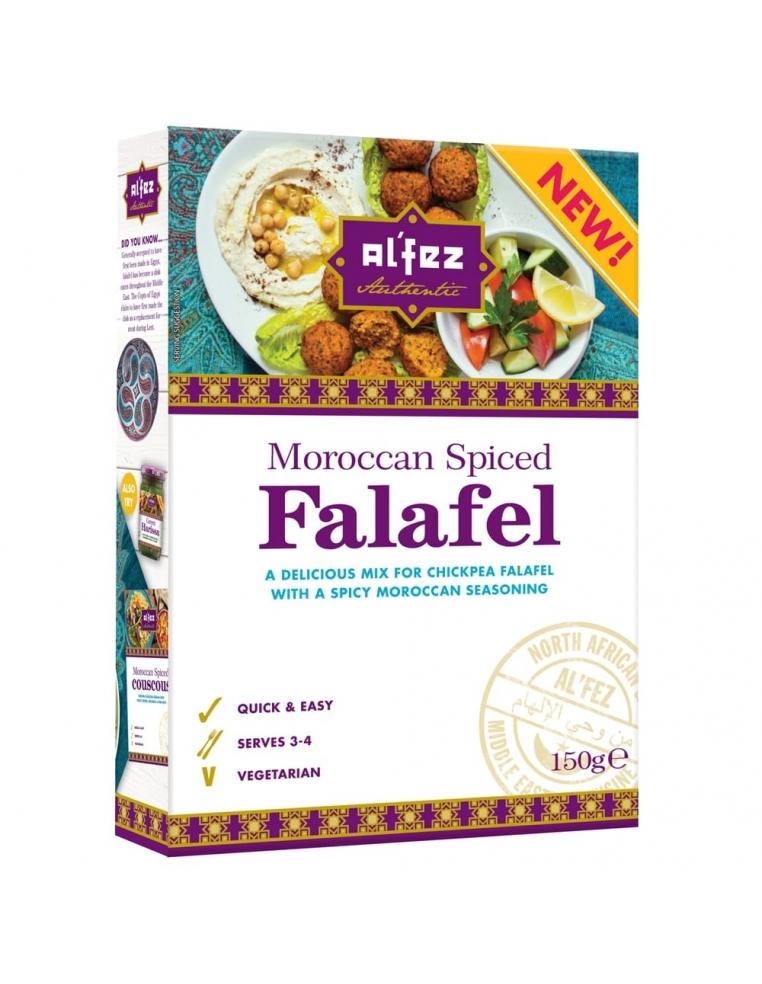 Alfez Falafels Ar Marokāņu Garšvielam 150g