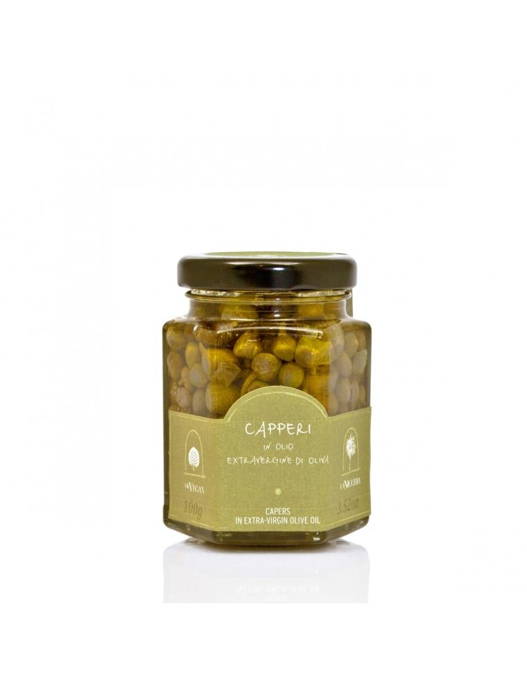 Pantellerijas Kaperi Extra Virgin Olīveļļā 100g