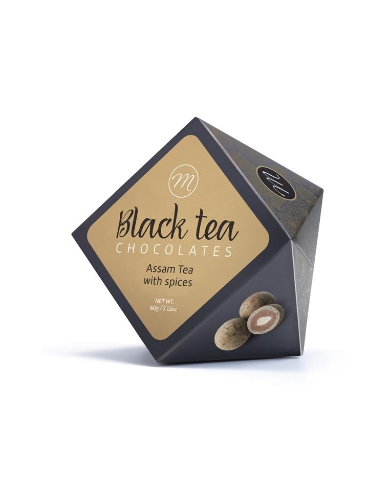 MiCu Šokolādes Konfektes Ar Assam Tēju Un Garšvielām 60g