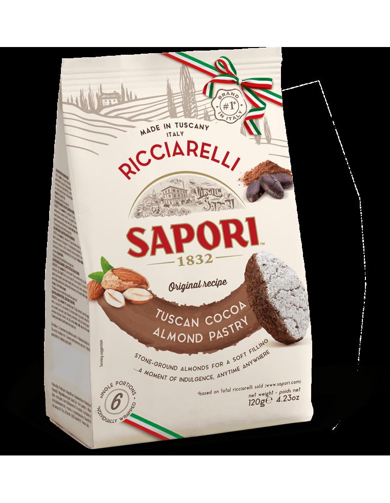 Almond and Cocoa Biscuits Ricciarelli...