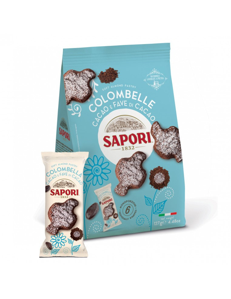 Almond and Cocoa Biscuits Colombelle...