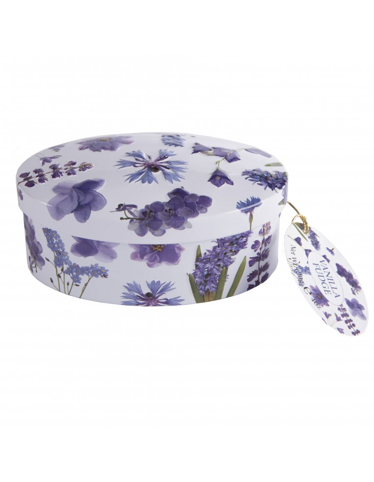 Vaniļas Fadžs Violetas Ziedu Burciņā...