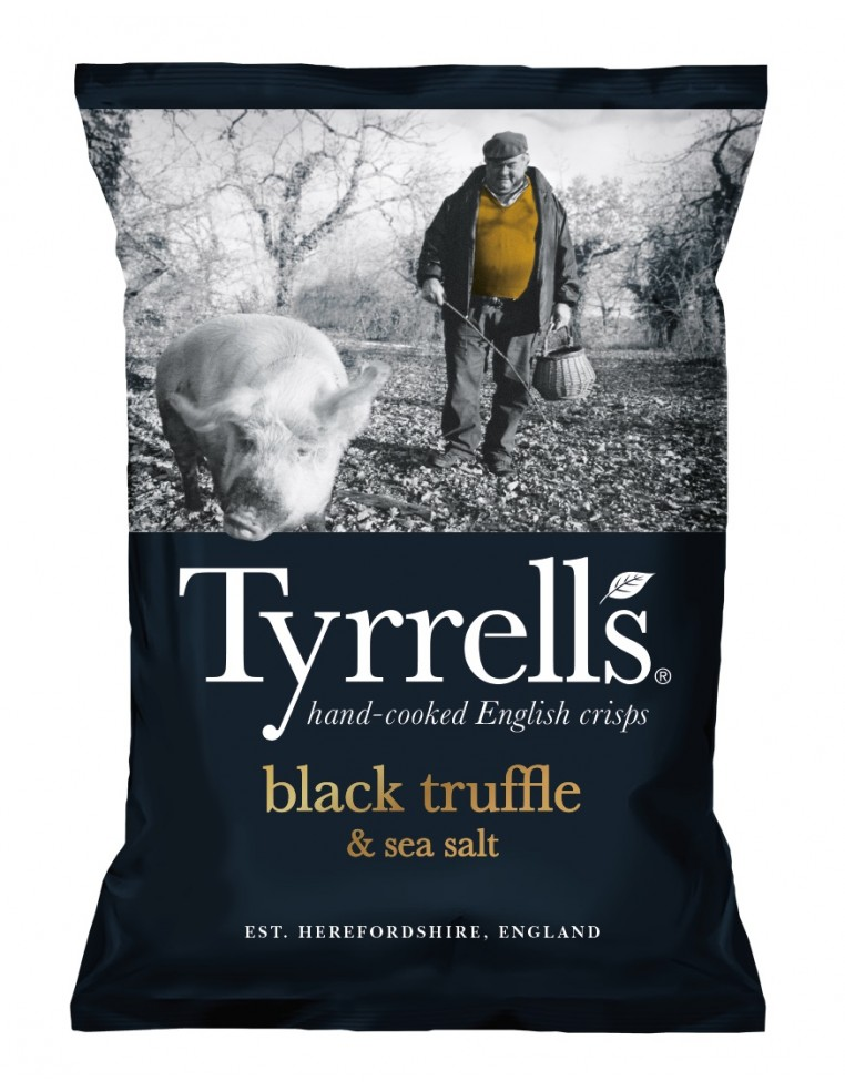 Tyrrells Kartupeļu Čipsi Ar Melno...