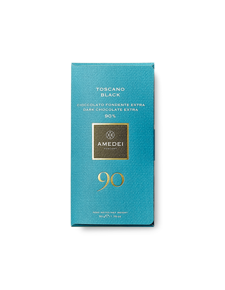 AMEDEI TOSCANO BLACK DARK CHOCOLATE 90%